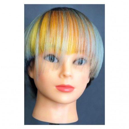 Tête à coiffer pour la couleur